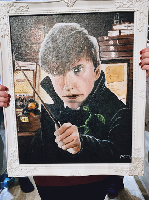 fantastic beasts art
