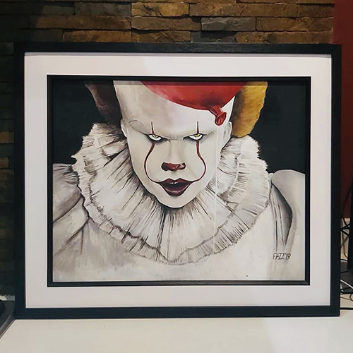 pennywise art